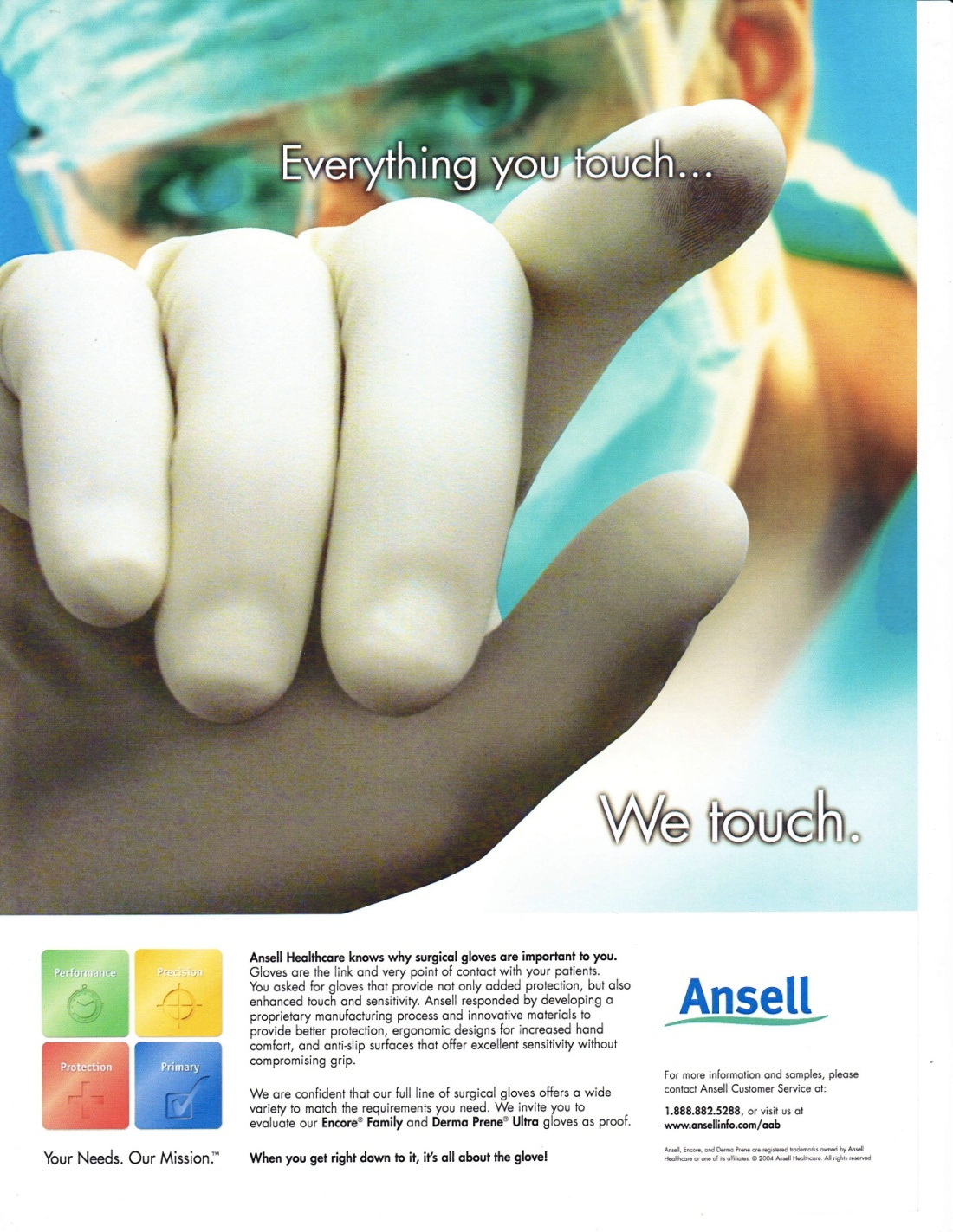 Ansell Touch 1
